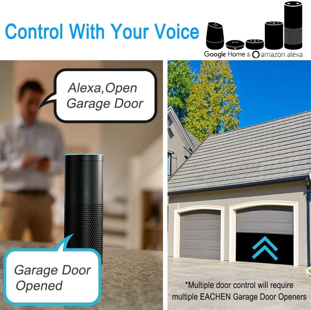 wifi smart garage opener